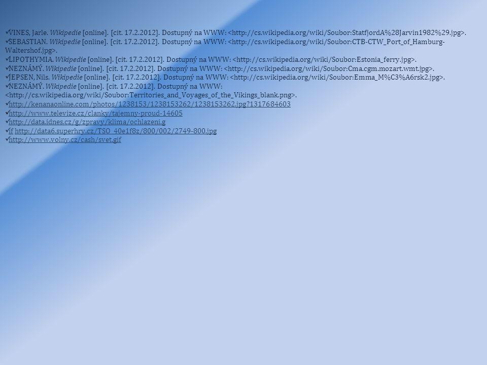 VINES, Jarle. Wikipedie [online]. [cit. 17. 2. 2012]
